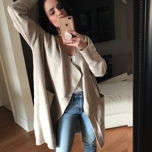 Sweaters - CURRENT Oversized Soft Open Front CARDIGAN